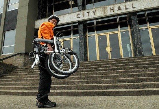 Folding Bike Perfect Commuting Solution