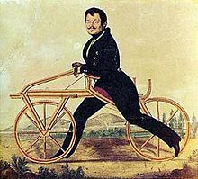 Inventor of First Bike