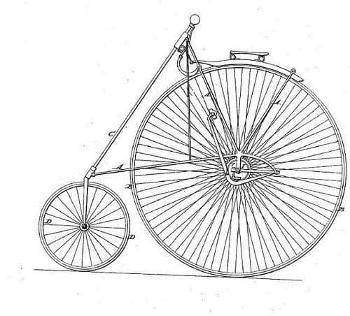 Sketch of Some of First Bikes