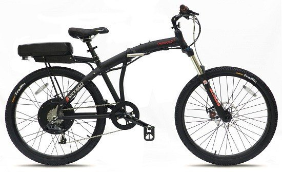 Phantom Electric Folding Bike