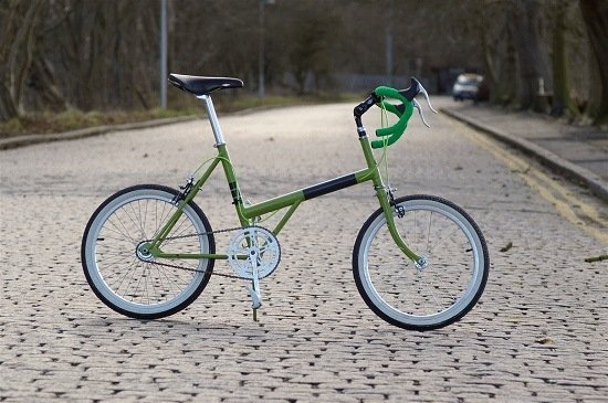 Folding Bike By Raleigh