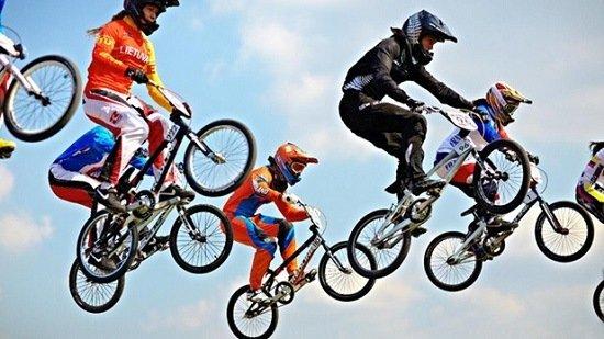 Olympics BMX Race