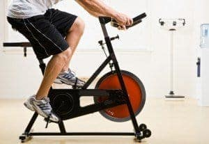 Example of Stationary Exercise Bike
