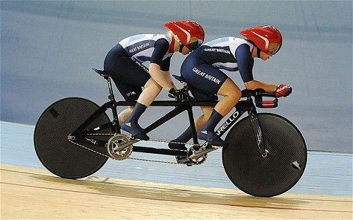 Olympics Tandem Bike Race