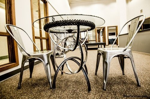 Bike Part Furniture: More Than Just An Artistic Statement