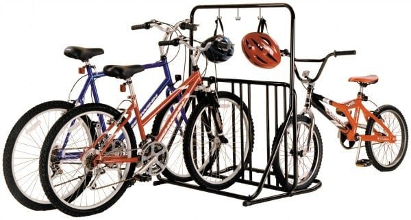 Bike storage - floor stand.