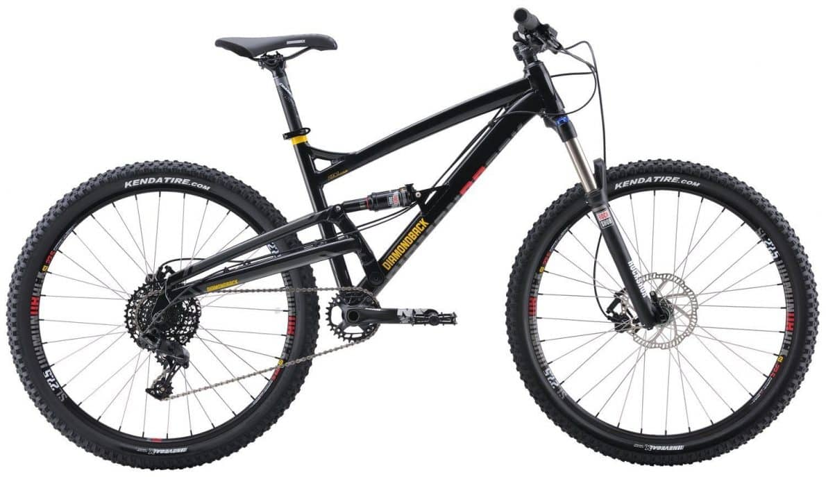 Diamondback Bicycles Atroz Comp Full Suspension Mountain Bike