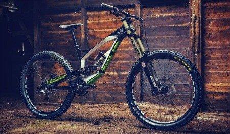 Downhill bike.