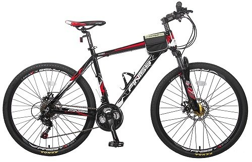 Merax Finiss 26-Inch Aluminum 21 Speed Mountain Bike