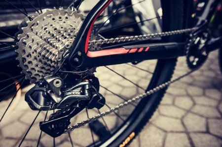 Gear system of mountain bike
