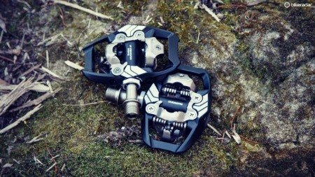 Mountain bike pedals.