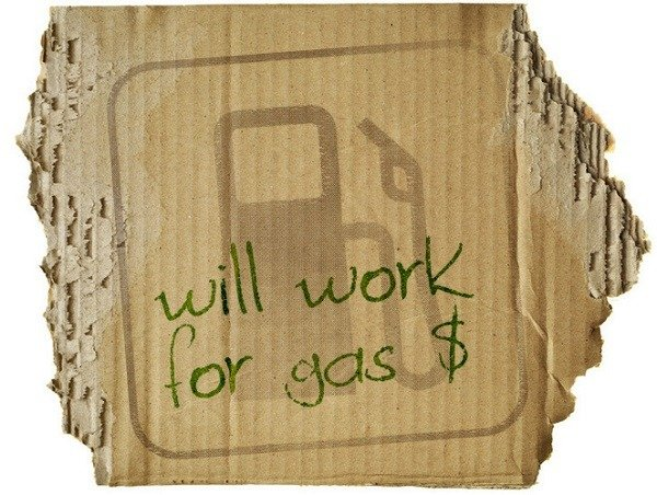 Will work for gas sign