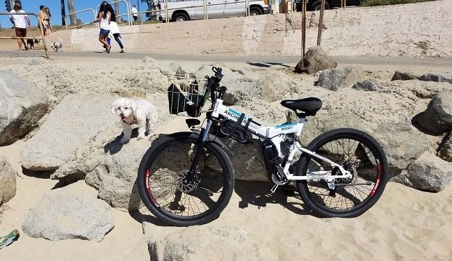 Electric Folding Bike From Ancheer