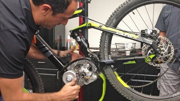 Repairing Electric Bike