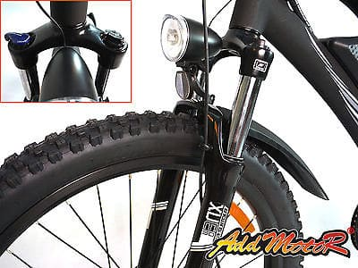Front Wheel of Addmotor Electric Bike