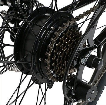 Ancheer Electric Bike Gears
