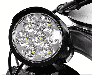 Led Lights on Electric Bike