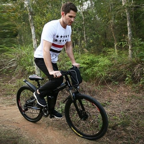 Riding Electric MTB