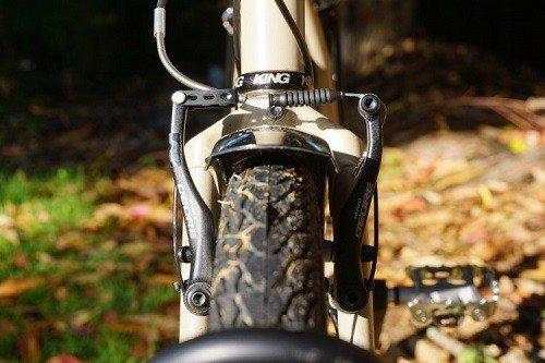Cruiser bike breaks