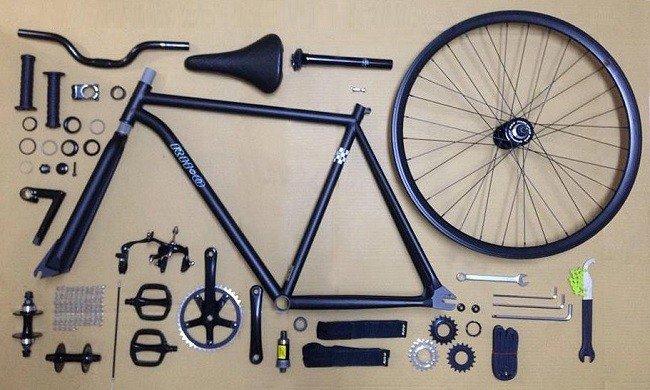 Frame Of Fixed Gear Bike