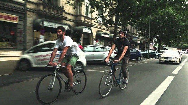 Fixed Gear Riding Bike