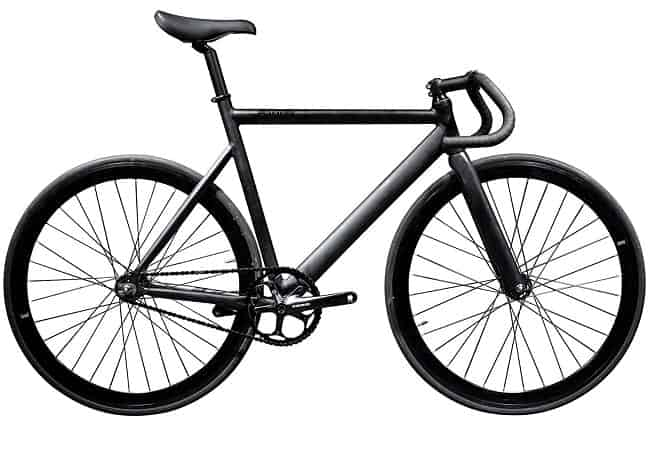 Black Fixed Gear Bike