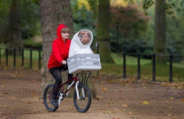 ET Costume with Bike