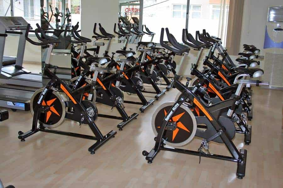 Gyms with Stationary Bikes