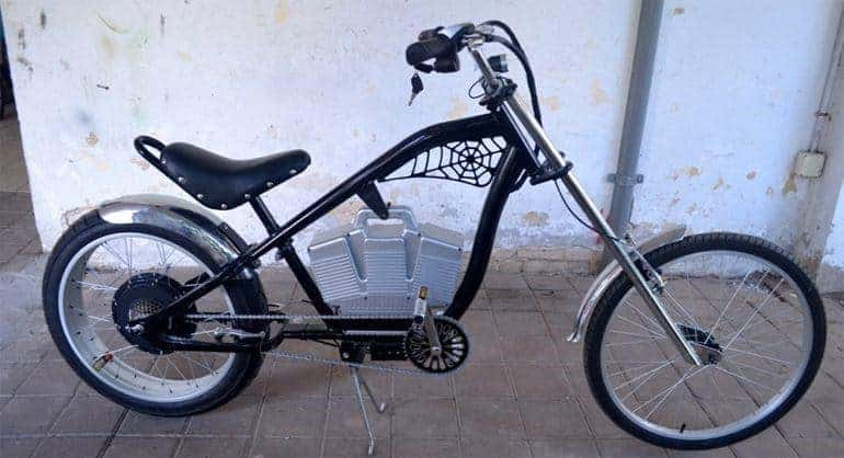 BmX Like Slower Style Electric Bike