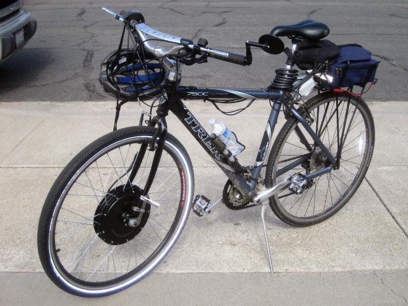 Trek Conversion to DIY Electric Bike