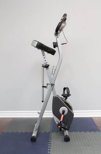 Indoor Storage of an Excercise Bike