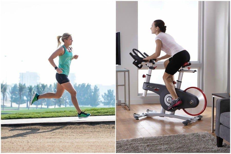 Best Cardio Workout: Exercise Bike vs. Running
