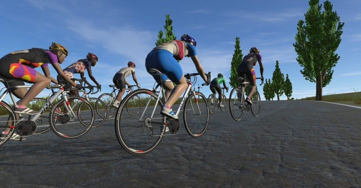 VR Cycling Game