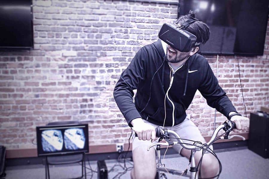 "Exercise Biking And Virtual Reality: An Exercise ""Game Changer"""