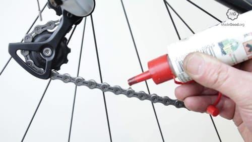 how to lube a bike chain