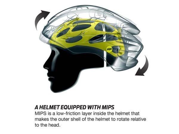 MIPS bike helmet