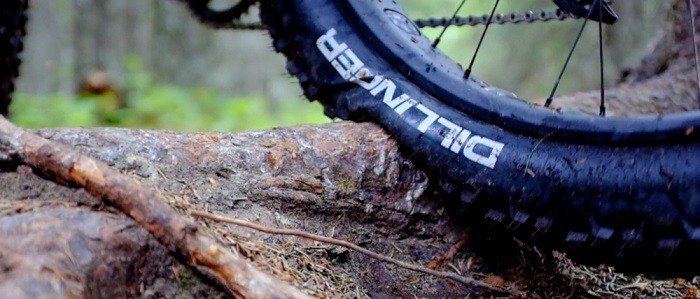 Checking mountain bike tire pressure without gauge.