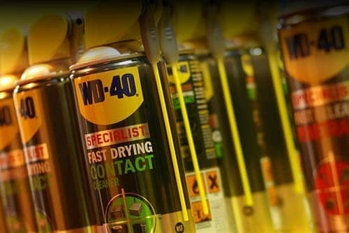 A lot of WD-40s.