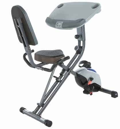 Exerpeutic WORKFIT 1000 Desk Station Folding Exercise Bike Review
