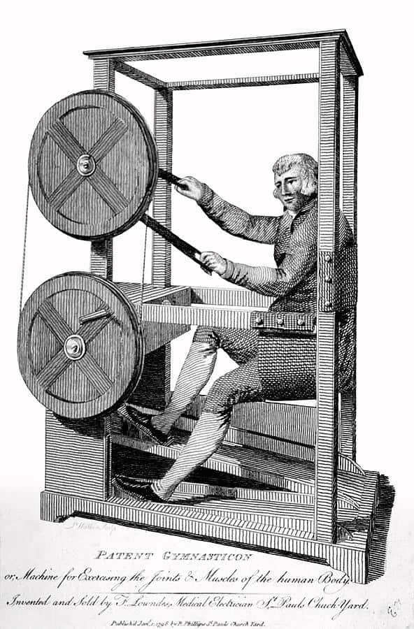 Gymnasticon Patent