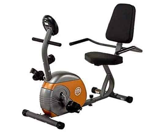 marcy recumbent exercise bike me-709 review