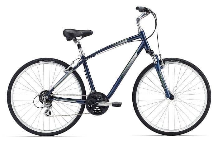 giant cypress comfort  hybrid bike review