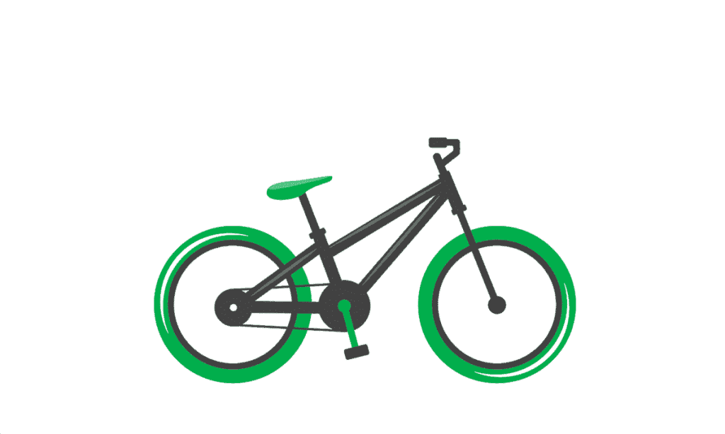 Kids bike size calculator