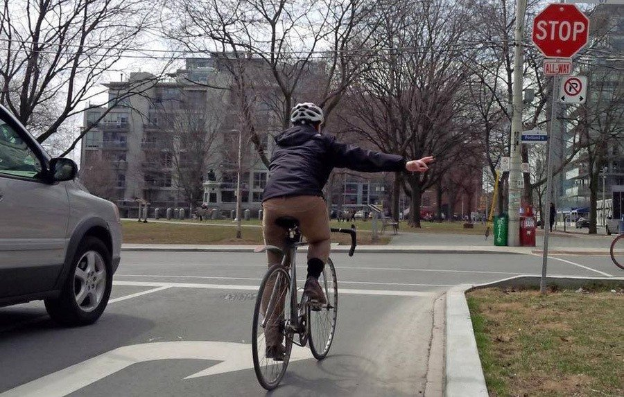 9 Important Bike Hand Signals You Should Know