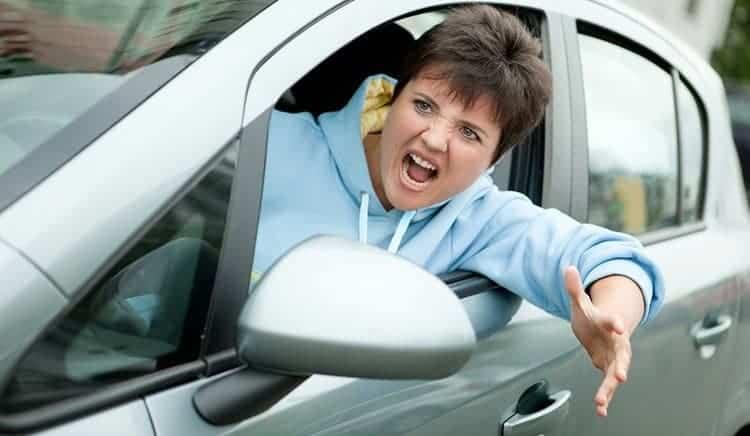 Road rage at Cyclist