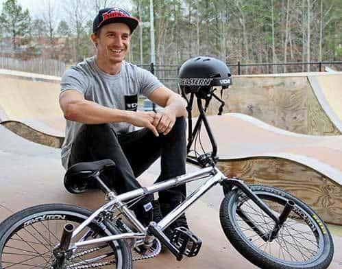 professional bmx biker