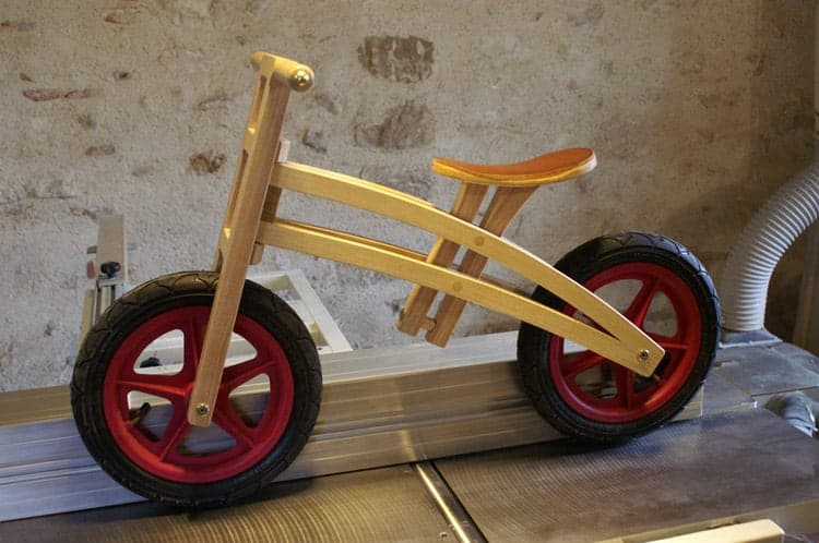Wood Balance Bikes