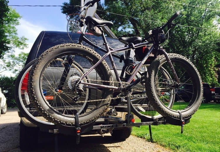 Hitch Extenders on Bike Racks