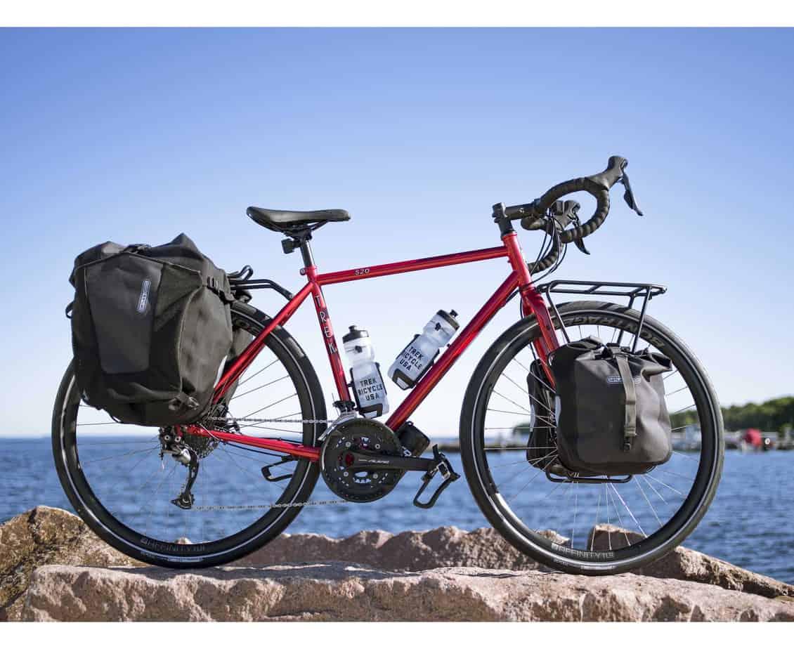 trek 520 all loaded up