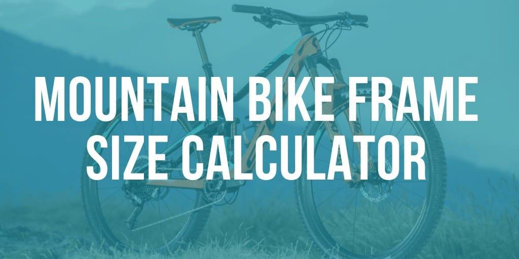 mtb frame size calculator